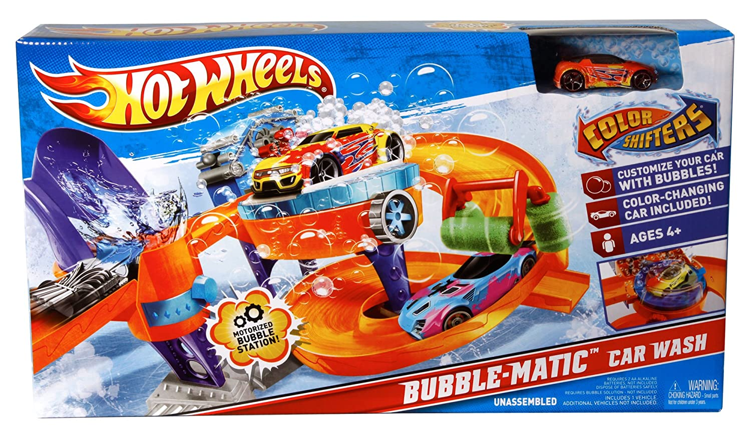 buy wheels color shifters bubble matic car wash playset online