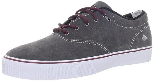 Emerica - Zapatillas para hombre gris Grey/Burgundy 6.5 o497JTiK2