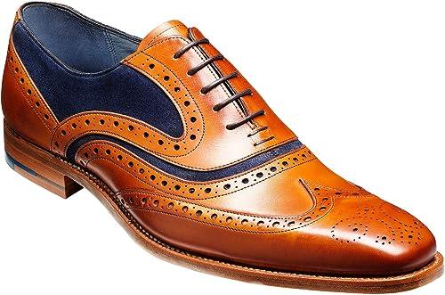 Barker Shoes McClean - Cedar Calf/Blue