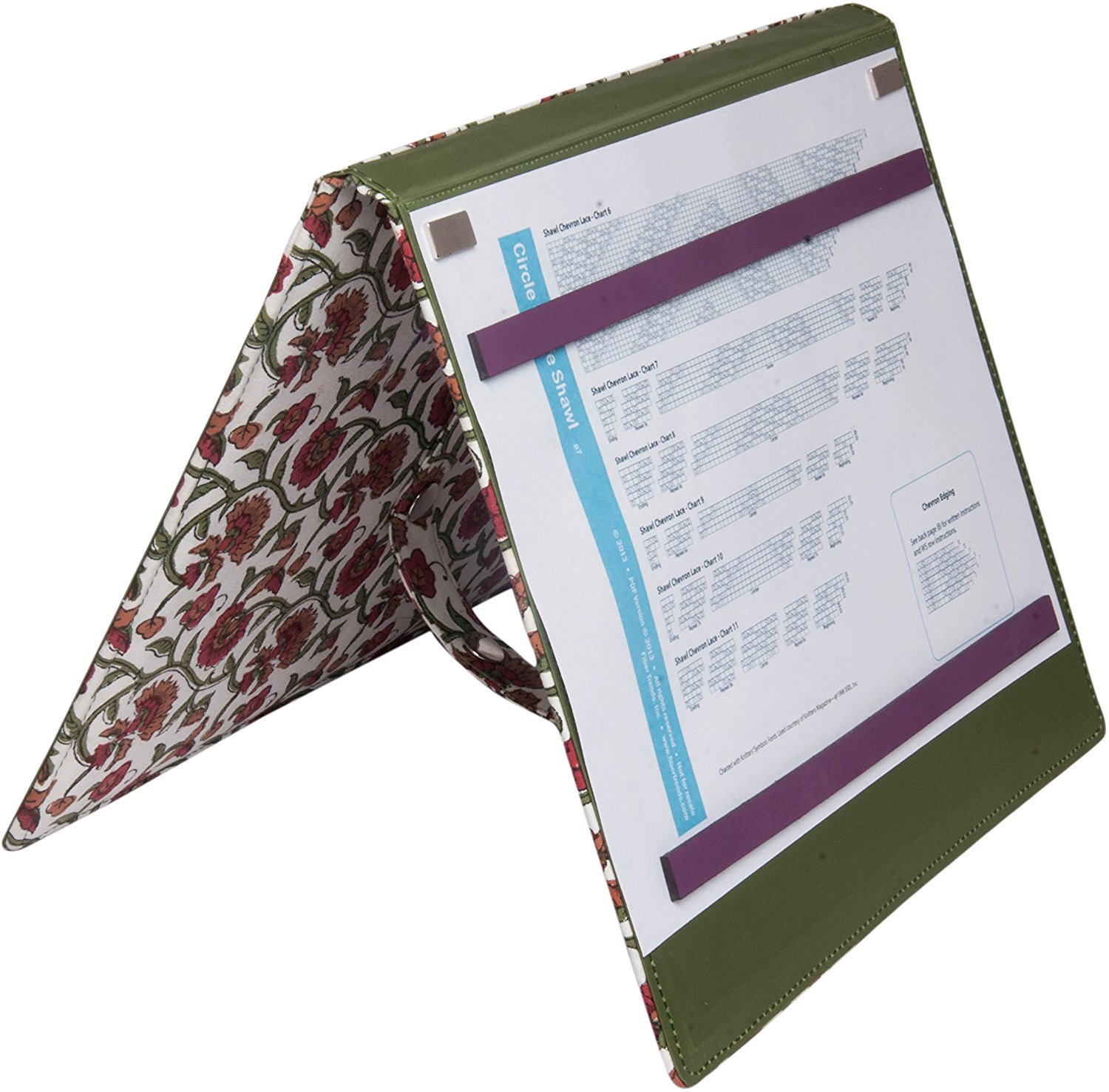 KP800352 Aspire Fold-Up Knitting Chart Keepers 9.75''X11.75''-Small