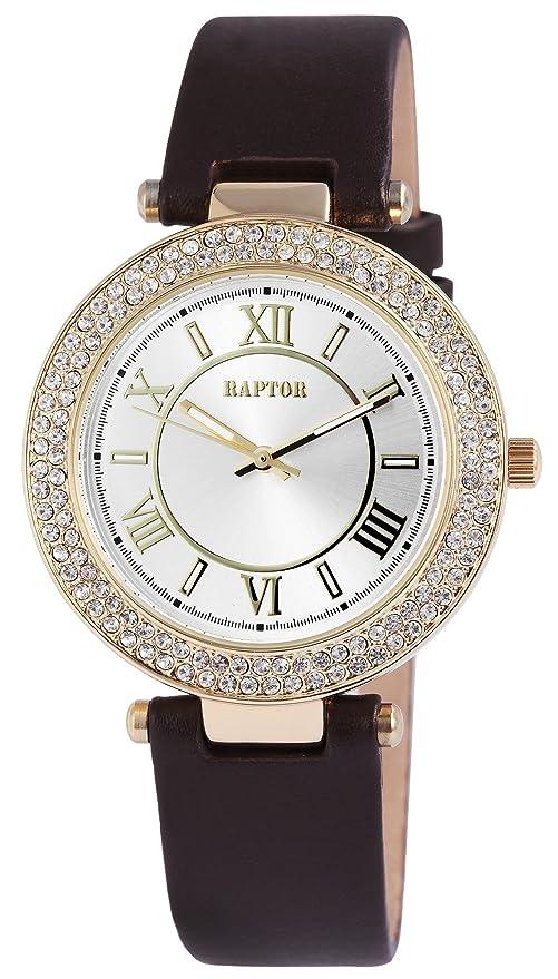 001braun Uhr Quarz Ra10080 Echtleder Damen Armband Analog Raptor ZiuXkOP