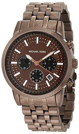 6f188827af92 Amazon.com  Michael Kors Men s MK8237 Scout Espresso Watch  Michael ...