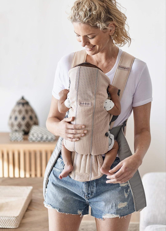 3D Jersey Dunkelgrau BABYBJ/ÖRN Babytrage Mini