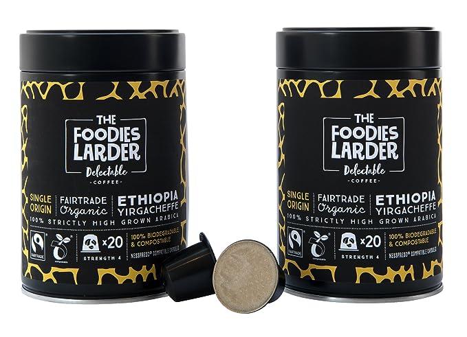 Cápsulas de café biodegradables Nespresso® | Origen único etíope ...