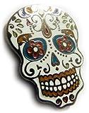 Amazon Price History for:Day of the Dead Dia De Los Muertos Skull Jacket Hat Vest Tie Tack Lapel Pin