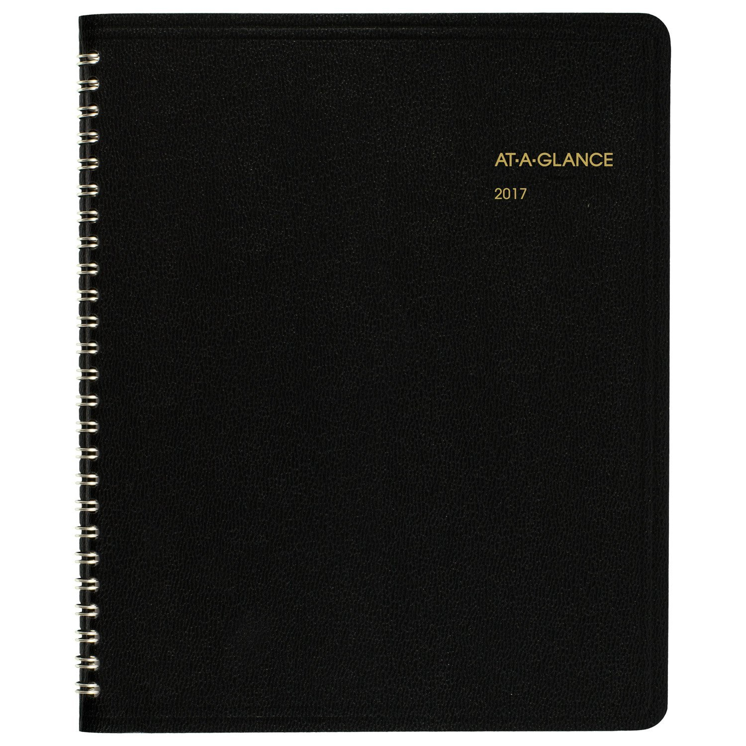 AT-A-GLANCE Monthly Planner / Appointment Book 2017, 6-7/8 x 8-3/4'', Black (7012005)