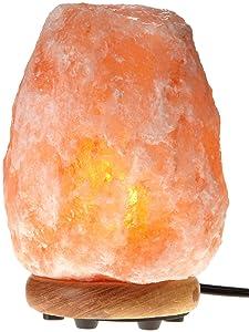 WBM Himalayan Glow Hand Carved Natural Crystal Himalayan Salt Lamp