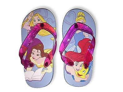 0ac57919bf18 Disney Princess Flip Flops Summer Sandals Toddler Girl Size 5 6
