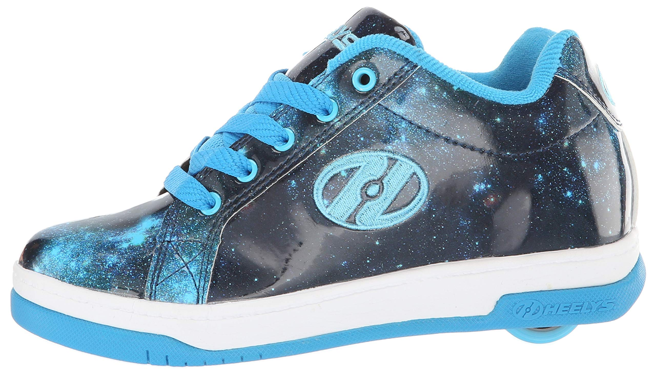 Heelys Girls' Split Tennis Shoe Blue/Galaxy 2 M US Big Kid by Heelys (Image #5)