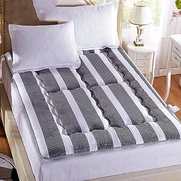 LJ&XJ Tatami Grueso colchón,Ocio Plegable Cama colchón Esponja Dormitorio Tatami Estera Antideslizante Alfombra-