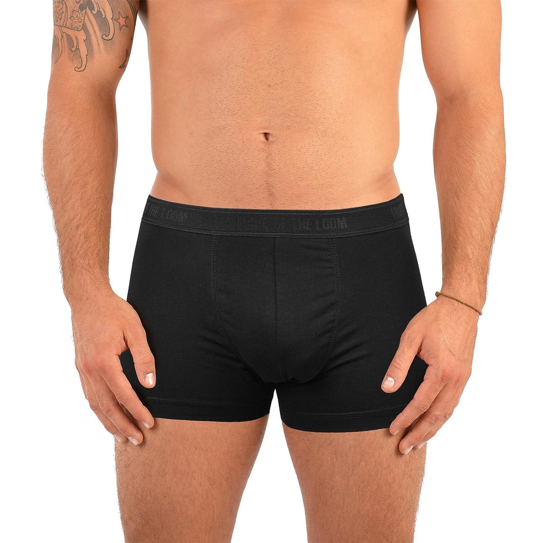 Herren Shorty 4 Stück Happy Birthday Männer Boxershorts Geburtstagsgeschenk für Männer Herren Geschenk zum Geburtstag 4er Pack Unterhosen