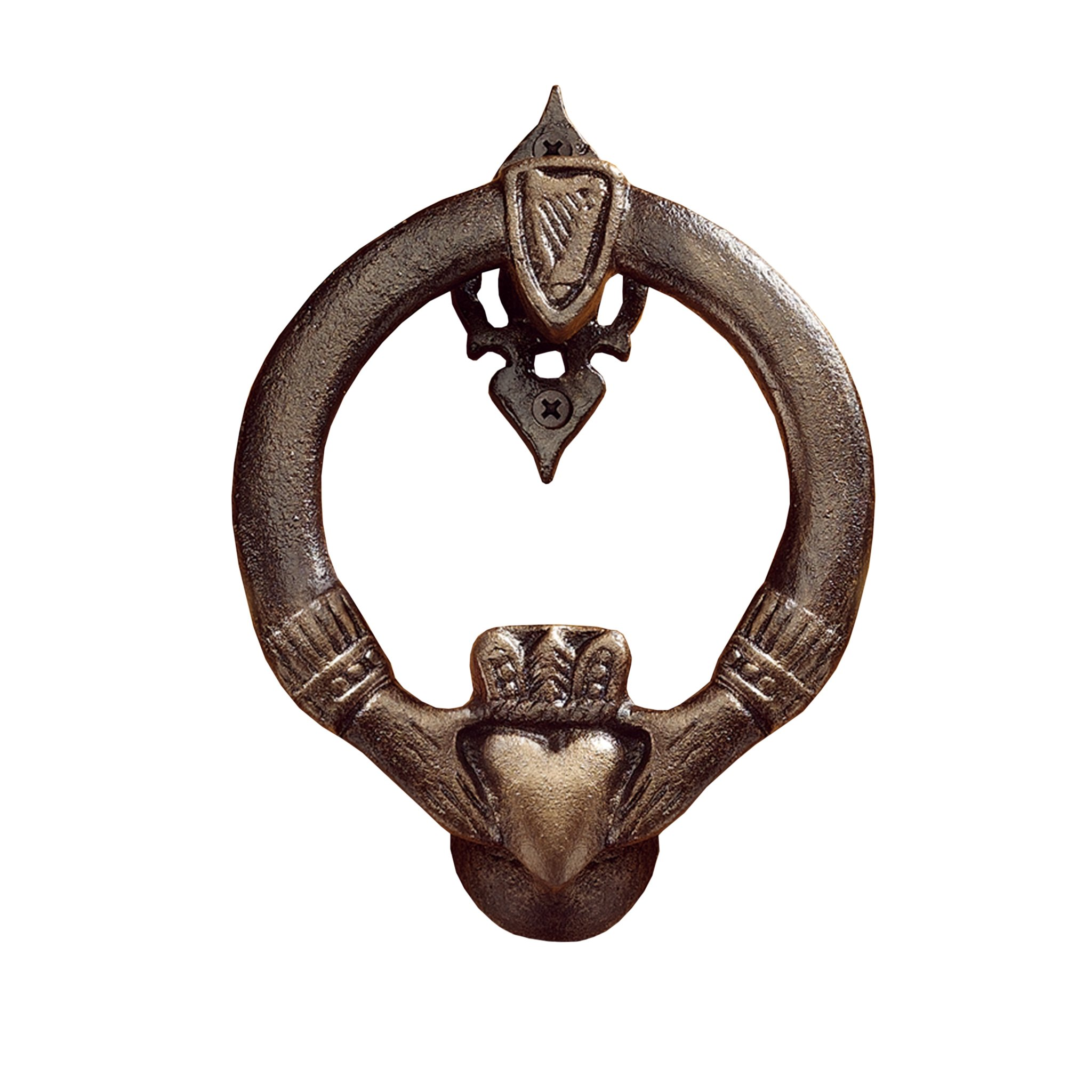 Design Toscano Claddagh Authentic Foundry Door Knocker