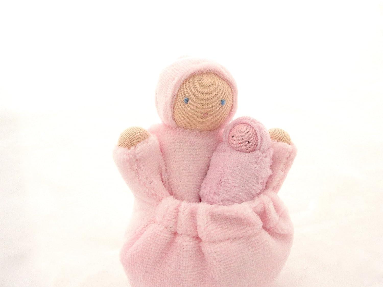Pink Pocket Mama Waldorf Doll