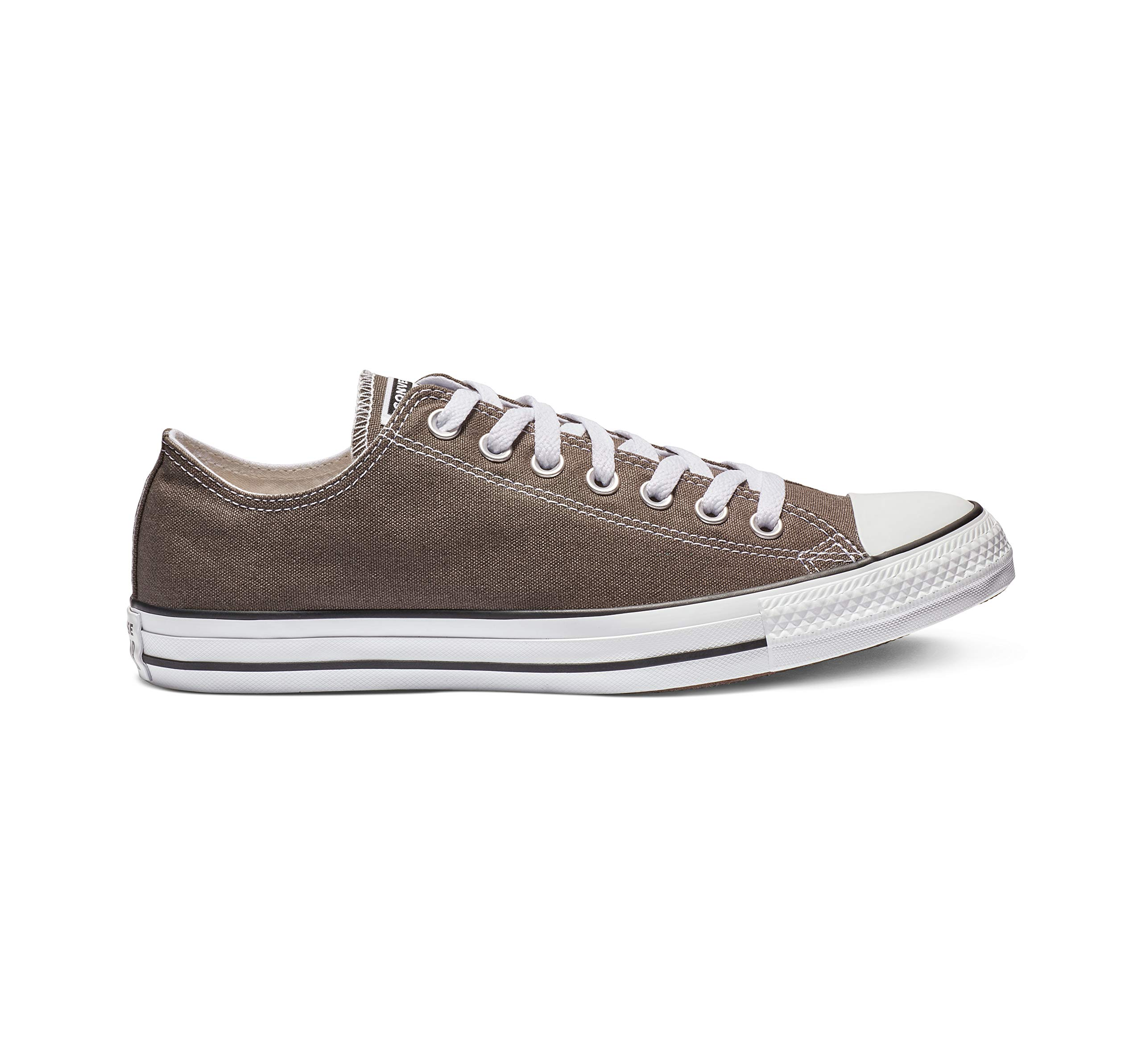 Converse Chuck Taylor All Star Canvas Low Top Sneaker, Charcoal, 2 M US Little Kid by Converse