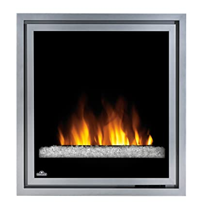 Napoleon 30 In Electric Fireplace Insert With Glass Embers Amazon