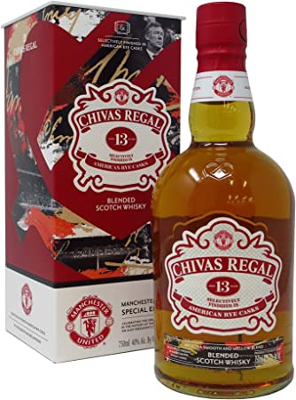 Chivas Regal - Manchester United Special Edition - 13 year old Whisky