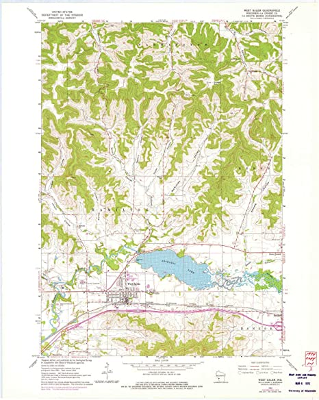 Amazon Com Yellowmaps West Salem Wi Topo Map 1 24000 Scale 7 5 X