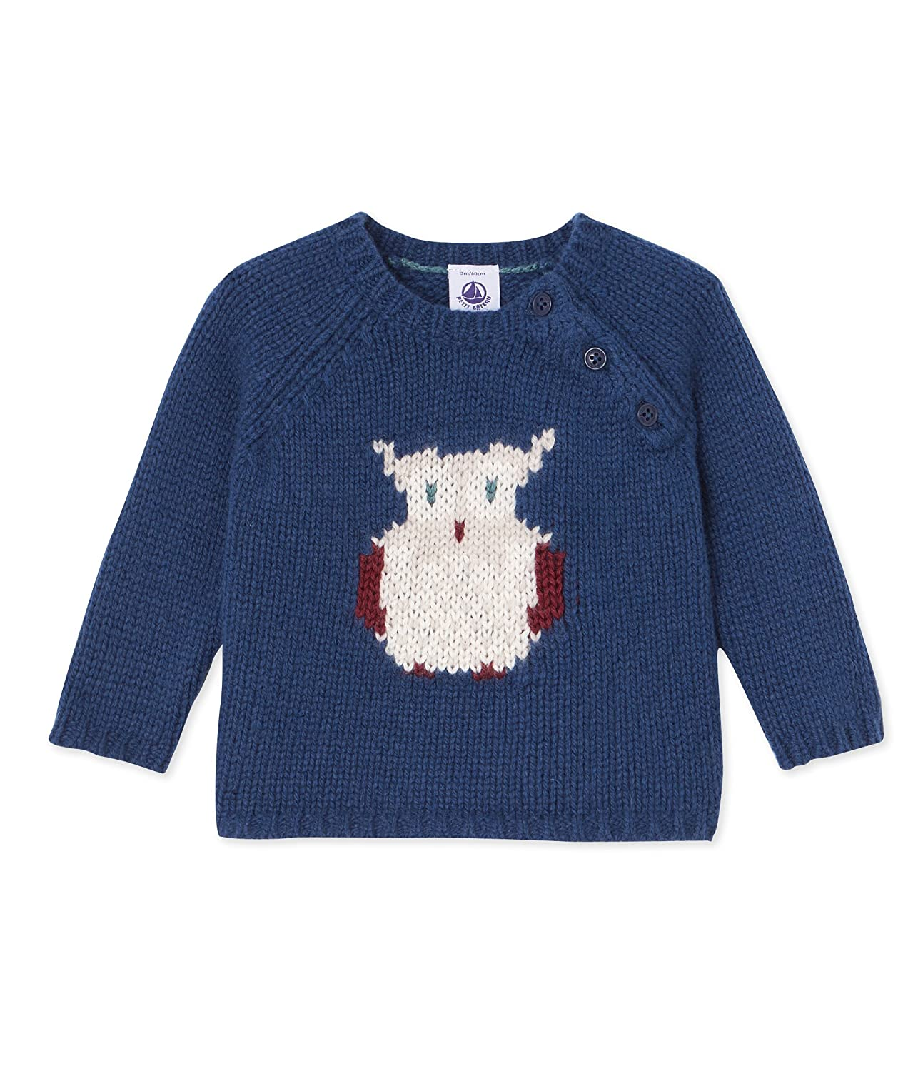 Petit Bateau Baby-Jungen Pullover Pull