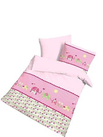 Elefant Renforce Baby Mädchen Bettwäsche Süßer Print Mit Elefanten