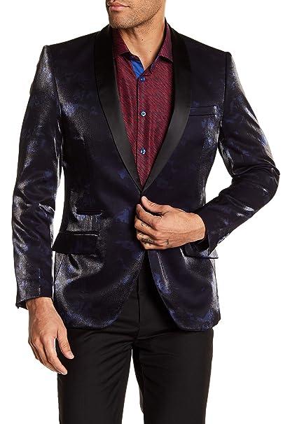 Amazon.com: Suslo Couture - Abrigo deportivo para hombre ...