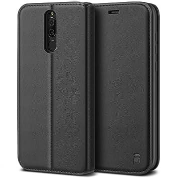 BEZ Funda Huawei Mate 10 Lite, Carcasa Compatible para Huawei Mate 10 Lite, Libro de Cuero con Tapa y Cartera, Cover Protectora con Ranura para ...