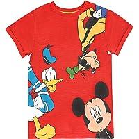 Disney Camiseta para niño con estampado de Mickey Mouse el Pato Donald y Goofy