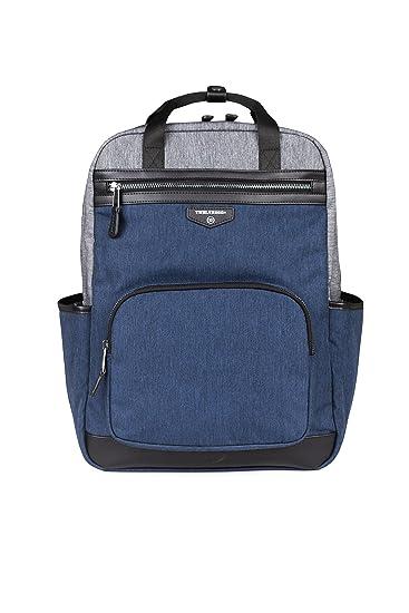 234e8bcf151e Amazon.com   TWELVElittle Unisex Courage Backpack Diaper Bag (Grey Navy)    Baby