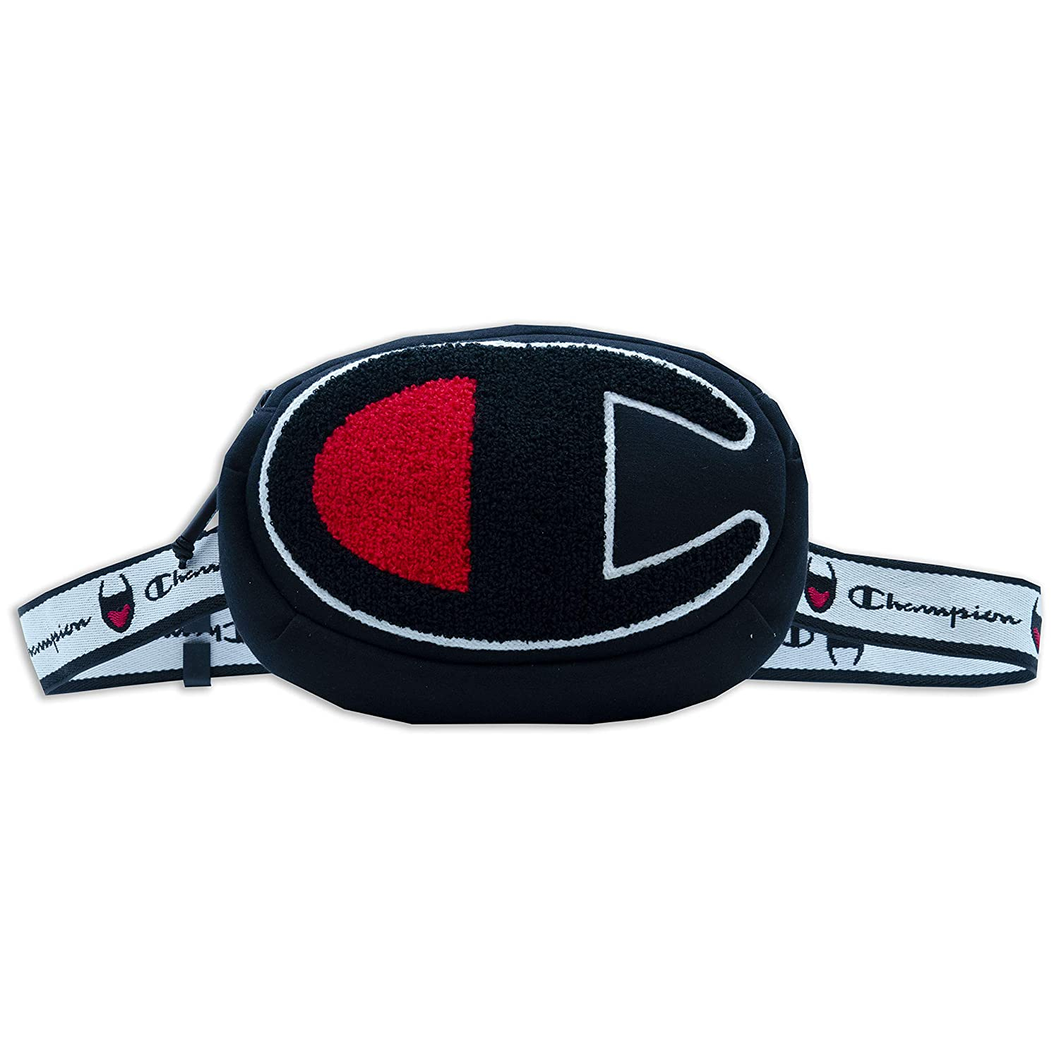 Champion Prime Logo Waist Pack (Black, One Size) CH1028