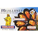 Vigilante - Mejillones en escabeche picante - Rías Gallegas - 70 g