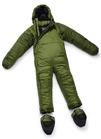 SELKBAG Saco de dormir Modelo 5G ORIGINAL Color Verde,Talla M