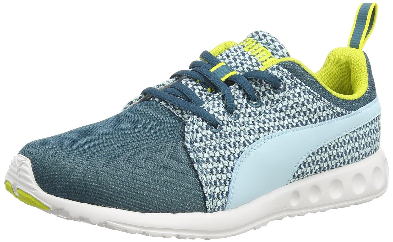 Puma Carson Runner Knit Wn'S - Zapatillas para Hombre 37 EU|Blu (Blau (Clearwater-sulphur Spring 01))