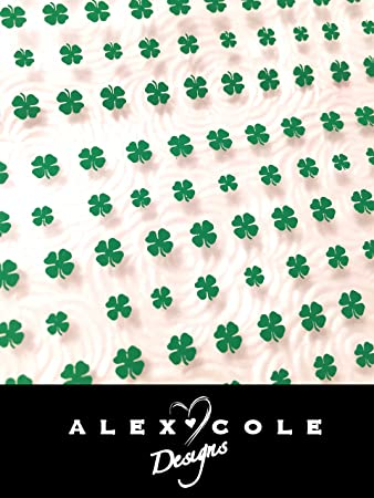 Amazon Four Leaf Clover Nail Art Stickers Decals Beauty