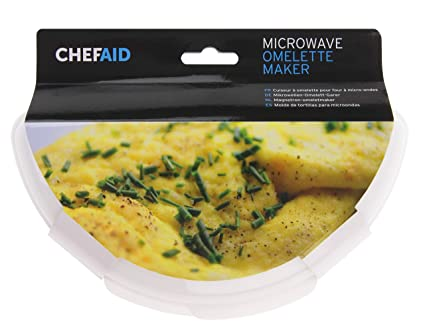 Chef Aid - Microondas Huevo Tortilla eléctrica: Amazon.es: Hogar