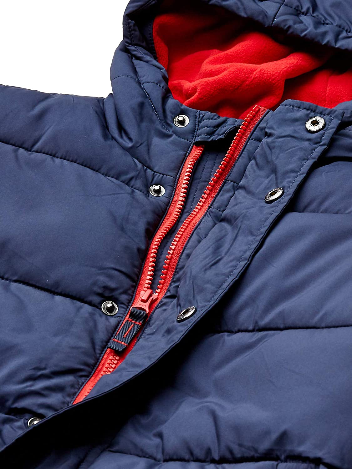 Essentials Boys Heavy-Weight Hooded Puffer Coat