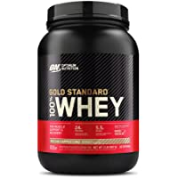 OPTIMUM NUTRITION GOLD STANDARD 100% Whey Protein Powder, Mocha Cappuccino, 2 Pound
