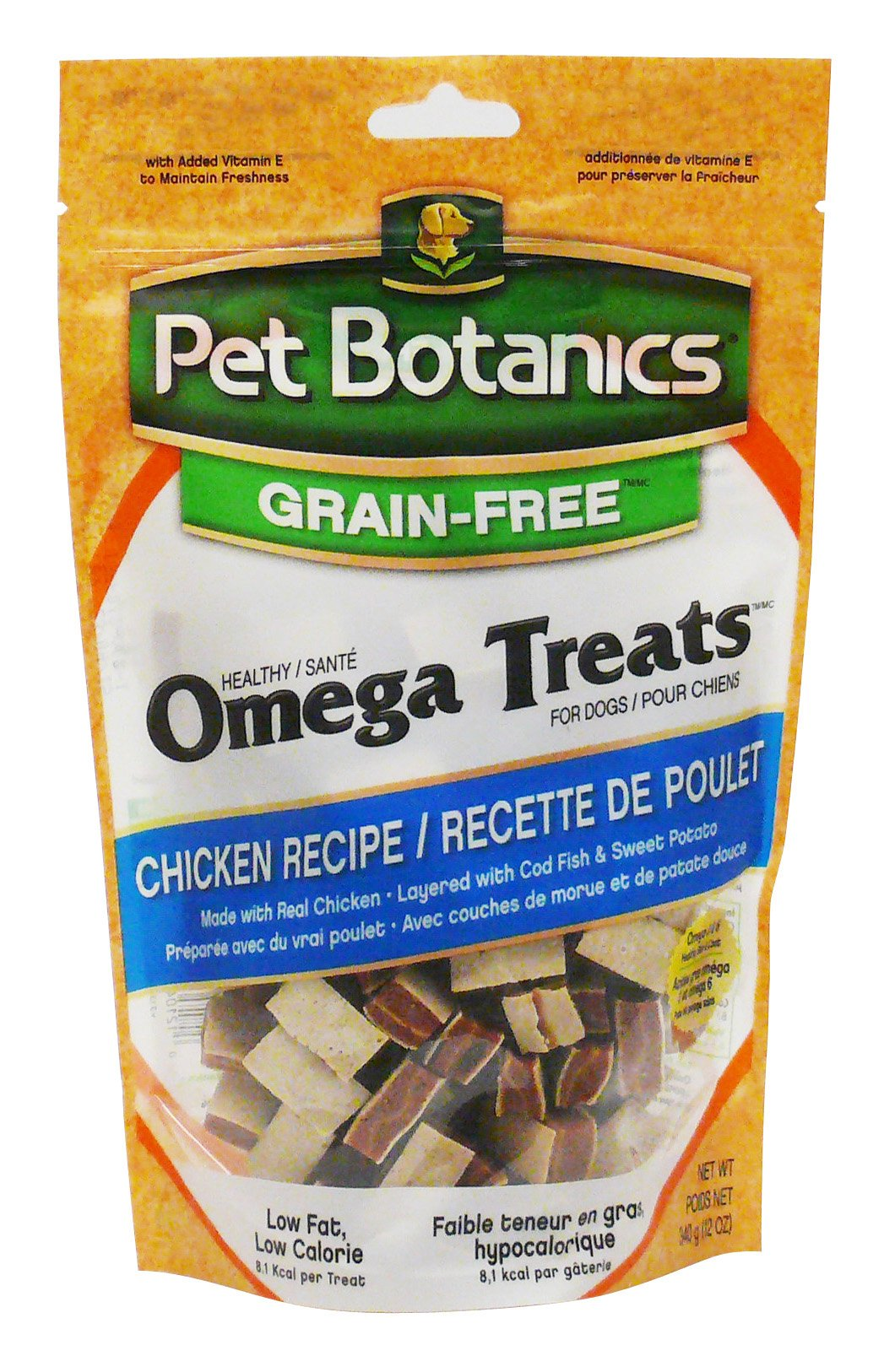 Pet Botanics Grain Free Healthy Omega Treats For Dogs, Chicken, 12-Ounce by Pet Botanics