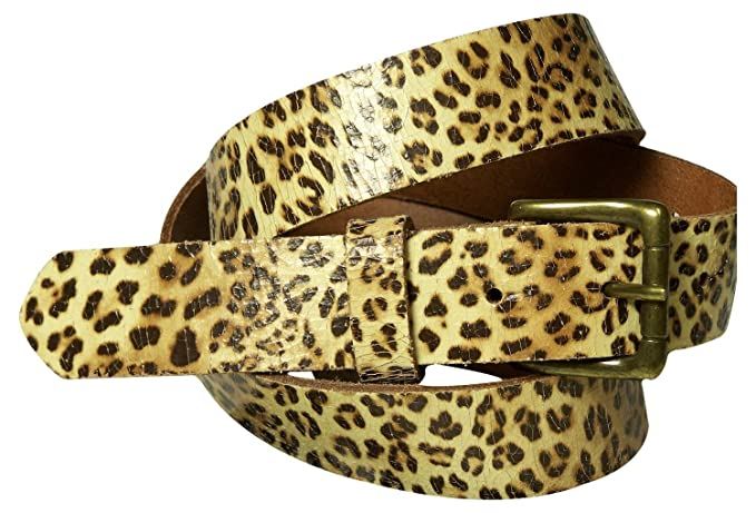 84f35908f5b FRONHOFER Leo print women s belt
