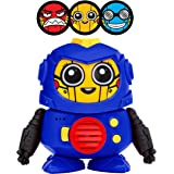 Power Your Fun Tok Tok Voice Changer Robot Toys - Mini Talking Robots for Kids with 3 Robot Voices and LED Faces for…