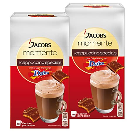 Jacobs cappuccino specials Daim, café soluble, café instantáneo ...