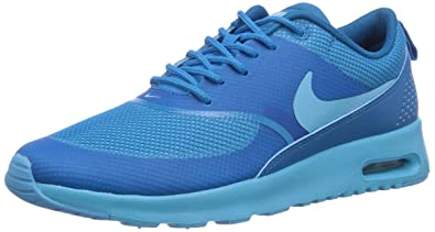 NIKE Air Max Thea, Damen Sneakers, Blau (Clearwater Lt Blue Lacquer) aad1d63898