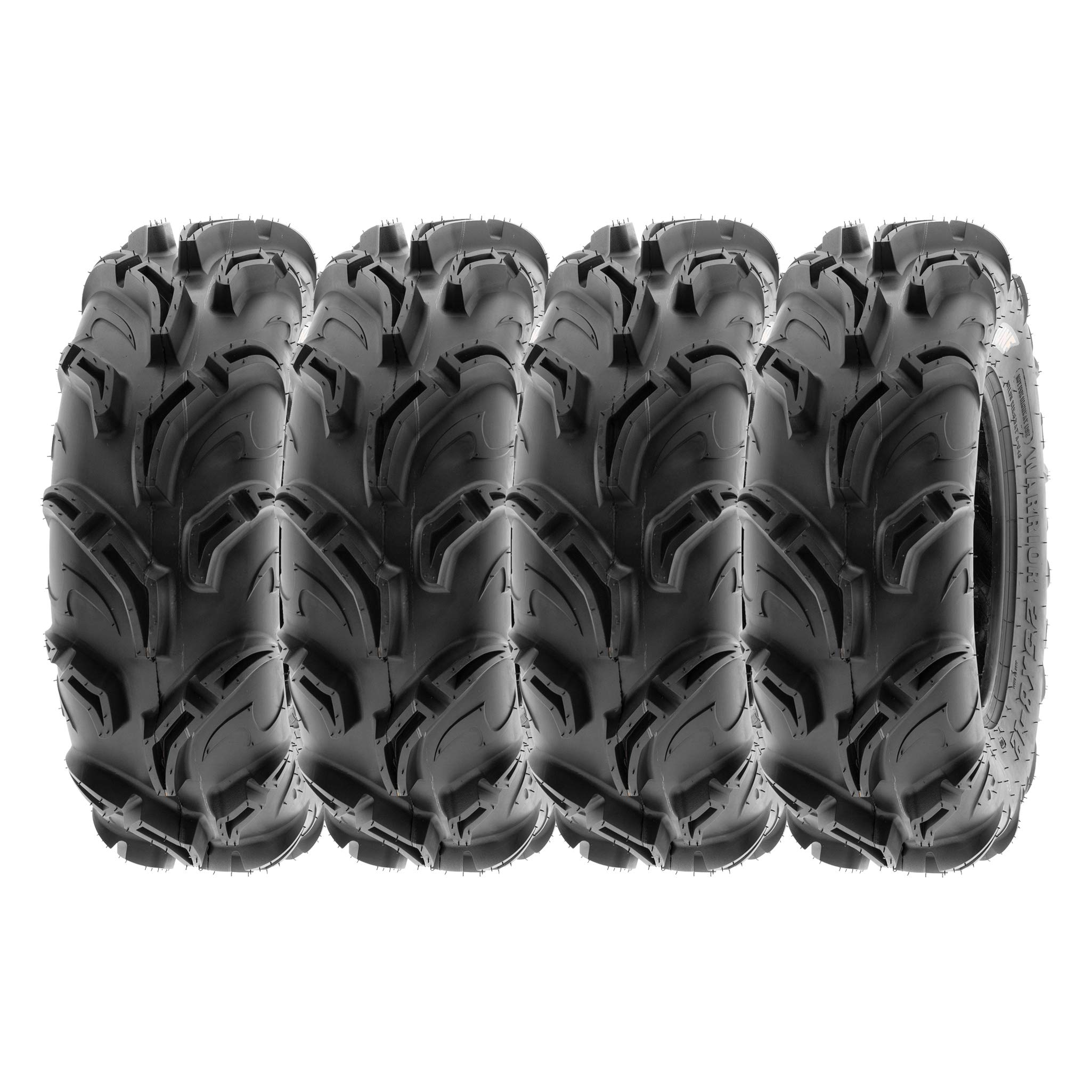 SunF Mud Trail Replacement ATV UTV 6 Ply Tires 26x9-12 26x9x12 Tubeless A048, [Set of 4]