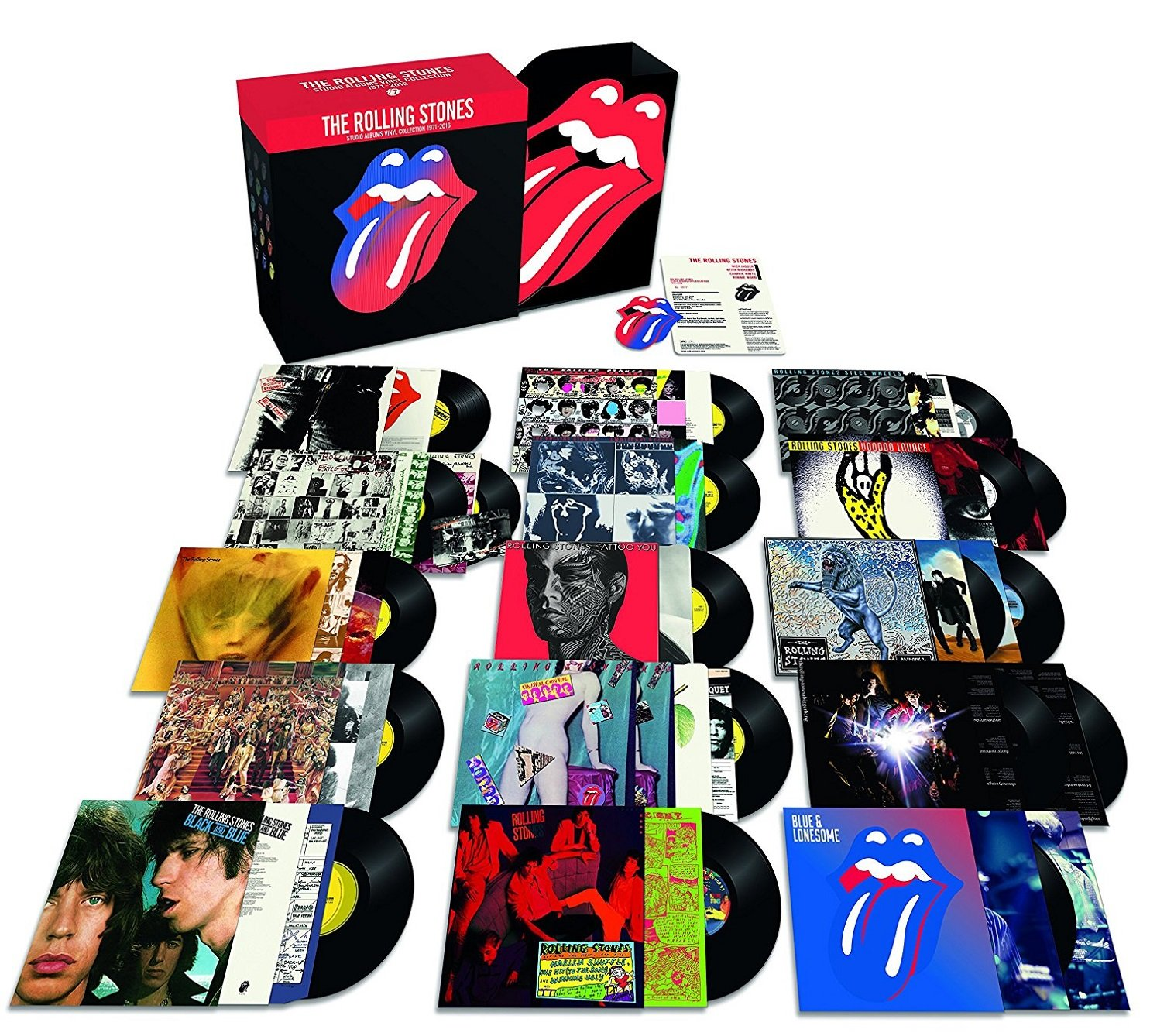 Studio Albums Collection 1971 - 2016