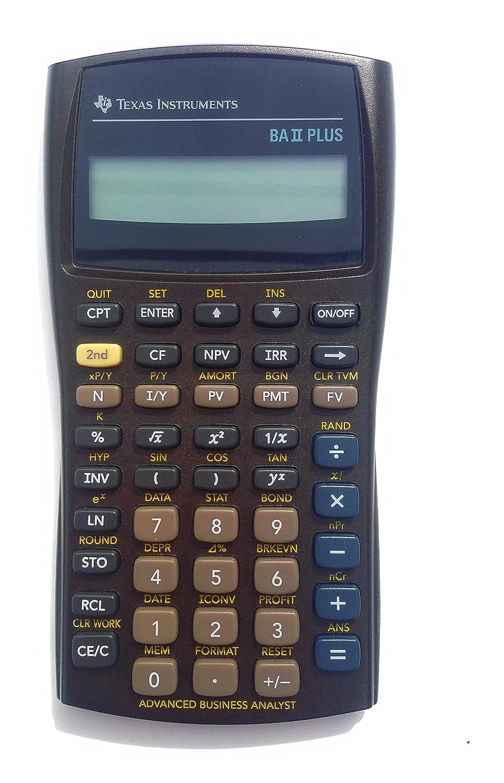 TEXBAIIPLUS - Texas Instruments BA-II Plus Adv. Financial Calculator LYSB00FMH2VMQ-ELECTRNCS