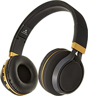 f13dff859cf Sentry Industries BT300 Bluetooth Stereo Headphones with Mic, Black