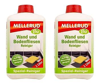 2x Mellerud Bio Wand Und Bodenfliesen Reiniger 1l Set