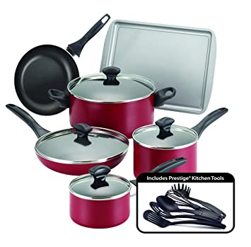 Amazon.com: Farberware - Set de cocina antiadherente apto ...