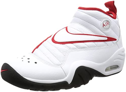 new styles 92598 c502c Nike Uomo Air Shake Ndestrukt 880869100 WhiteWhite BLK Red PE17  Amazon.es Libros