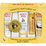 Burt's Bees Essential Gift Set, 5 Travel Size Products - Deep Cleansing Cream, Hand Salve, Body Lotion, Foot Cream and Lip Balm