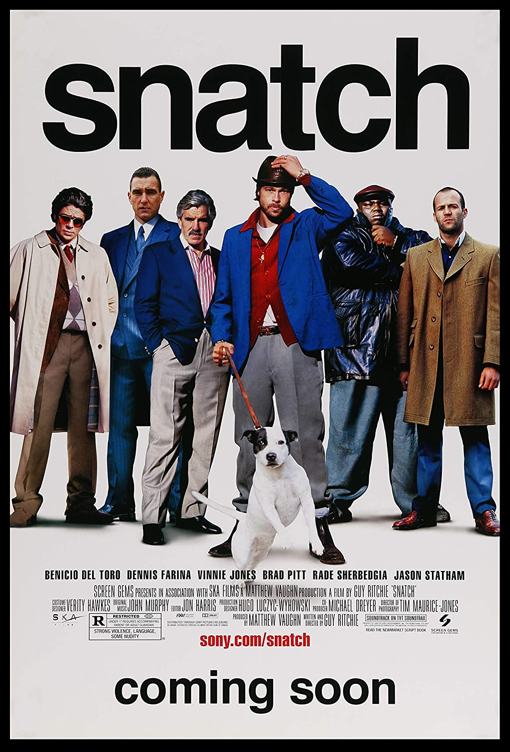 Snatch classic Vintage A3 movie poster Art print: Amazon.co.uk: Welcome