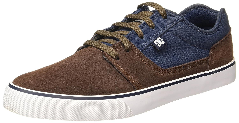 DC TONIK Unisex-Erwachsene Sneakers  12.0|navy/dk chocolate